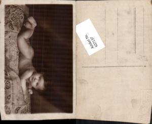 637137,Foto-AK Baby auf decke Atelier Stella Wien Leopoldstadt & Brigittenau