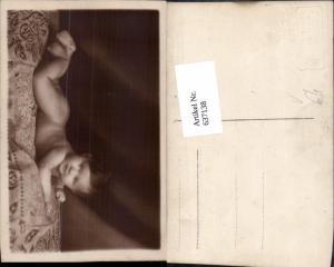 637138,Foto-AK Baby auf decke Atelier Stella Wien Leopoldstadt & Brigittenau