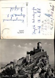 636295,Repubblica San Marino Fortezza Schloss