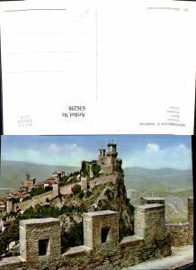 636298,Repubblica San Marino Fortezza Schloss