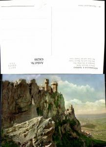 636299,Repubblica San Marino Prima e Seconda Torre Der Erste u. Zweite Turm