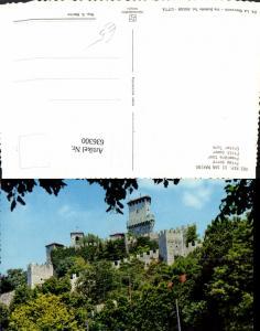 636300,Rep. Di San Marino Prima torre Erster Turm