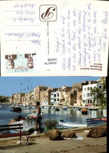 636308,Malta Marsascala Seafront Marsascala Fischen Hafen Boote