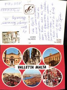 636310,Mehrbild Ak Malta Valletta Capital City