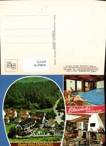 637173,Mehrbild Ak Bleiwäsche Sauerland Hotel Waldwinkel Bad Wünnenberg
