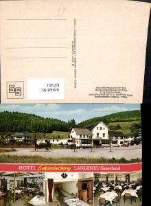 637451,Mehrbild Ak Langenei Lennestadt Sauerland Hotel Pension Schweinsberg