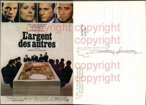 474196,Film Reklame L argent des autres Christian de Chalonge Jean-Louis Frintignant Catherine Deneuve