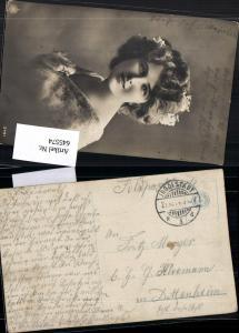 545574,WK 1 Feldpost Ingolstadt nach Dittenheim 1914 Frau Portrait pub NPG 2491