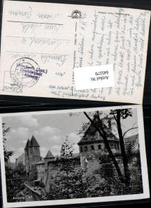 545579,WK 2 Feldpost Amberg Lazarett Dreifaltigkeit n. Loosdorf Melk 1942