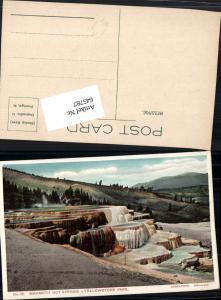 645787,Yellowstone Park Mammoth Hot Springs pub Haynes Photo 151