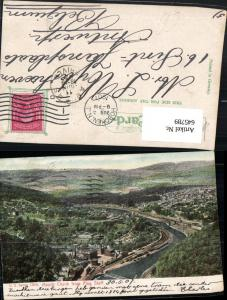 645789,Mauch Chunk from Flag Staff