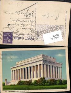 645791,Washington D. C. Lincoln Memorial