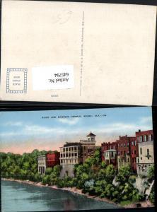 645794,Selma Alabama River and Masonic Temple