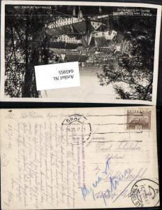 645955,Stempel Graz n. Bad Ischl Postvermerk abgereist retour