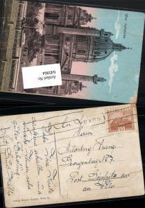 645964,Stempel Wien nach Göpfritz an der Wild 1930 Karlskirche Wieden
