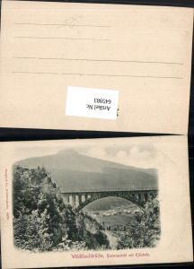 645983,tolle AK Wäldlibachbrücke Brücke b. Klösterle Stuben am Arlberg pub Stengel & Co. 6470