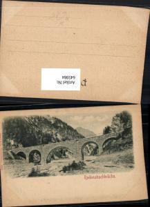 645984,Radonabachbrücke Brücke Viadukt b. Dalaas Bludenz Wald am Arlberg