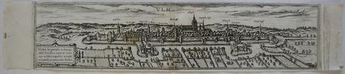 Ulm Ansicht Orig Kupferstich Braun Hogenberg 1580 Baden Württemberg