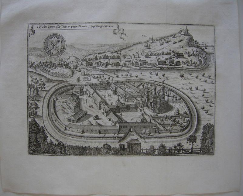 Merian Bogen Kloster Oberaltaich Kupferstich 1644