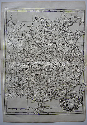 China Formosa Orig Kupferstichkarte Le Rouge 1767 Crepy