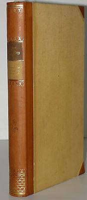 Weisflog bürgerliche Historien Georg Müller  Halbleder 1922 Bibliophilie