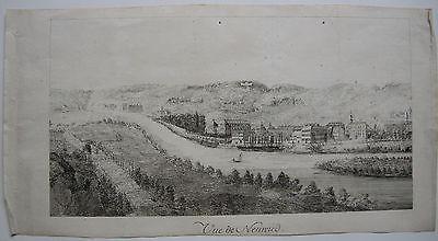 Ansicht Neuwied Koblenz Rheinland-Pfalz Orig Kupferstich 1700