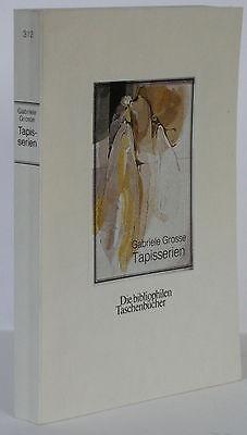 Gabriele Grosse Tapisserien Werkverzeichnis 1982 mit signierter Orig Radierung