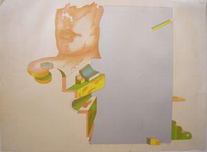 Wolfgang Oppermann August '69 Farblithografie signiert 1969