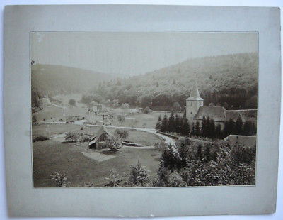Marxzell Karlsruhe Baden Württemberg Foto Albumin auf Karton 1890