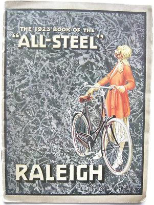 Fahrrad Raleigh All-Steel Fahrradkatalog 1923 Technik Bicycle