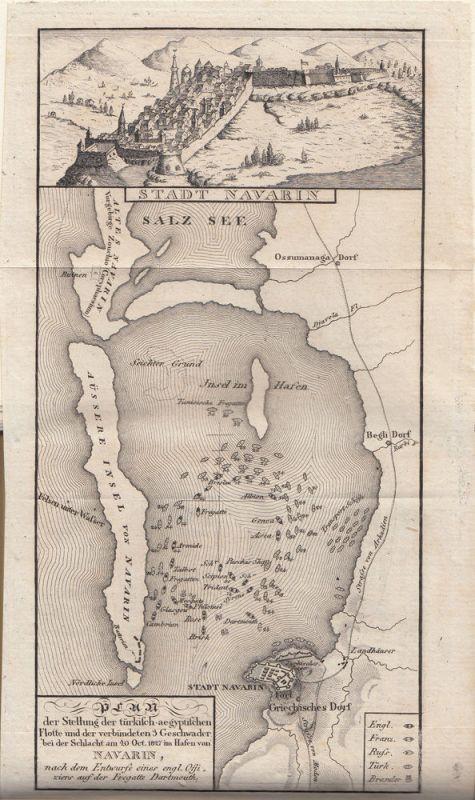 Jäck Reisen durch Griechenland 3 Bände 1828-1831 9 Kupfertafeln 4