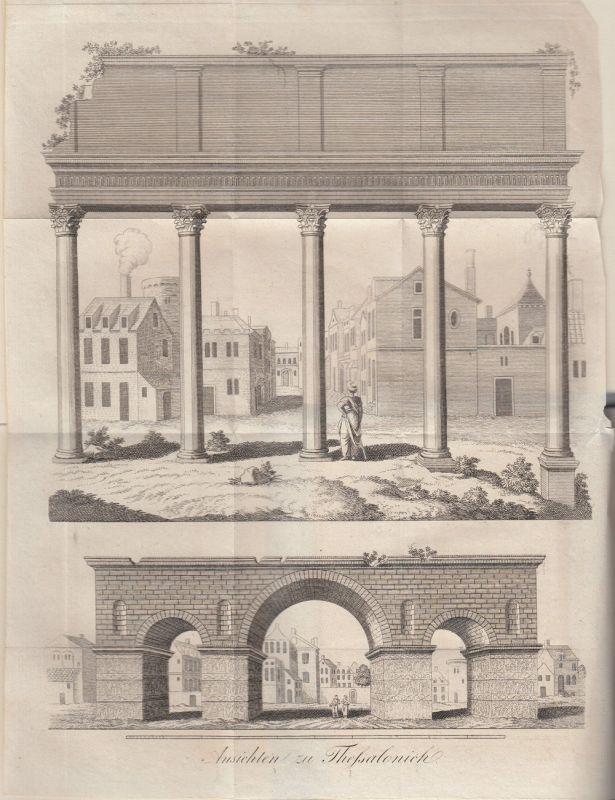 Jäck Reisen durch Griechenland 3 Bände 1828-1831 9 Kupfertafeln 9