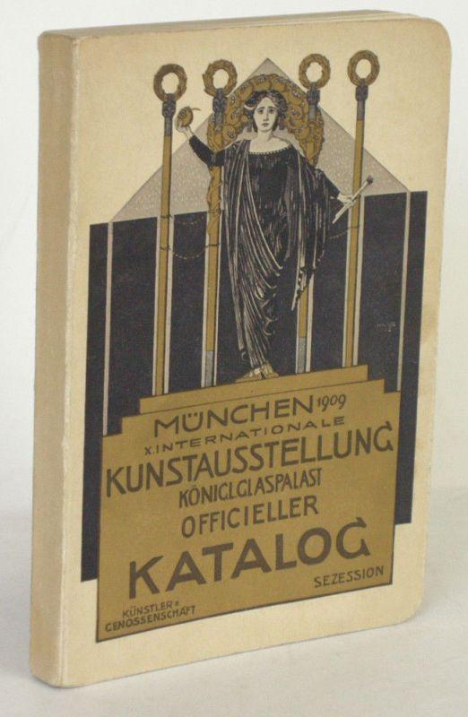 Münchener Jahres-Ausstellung Glaspalast 1909 Ofizieller Katalog
