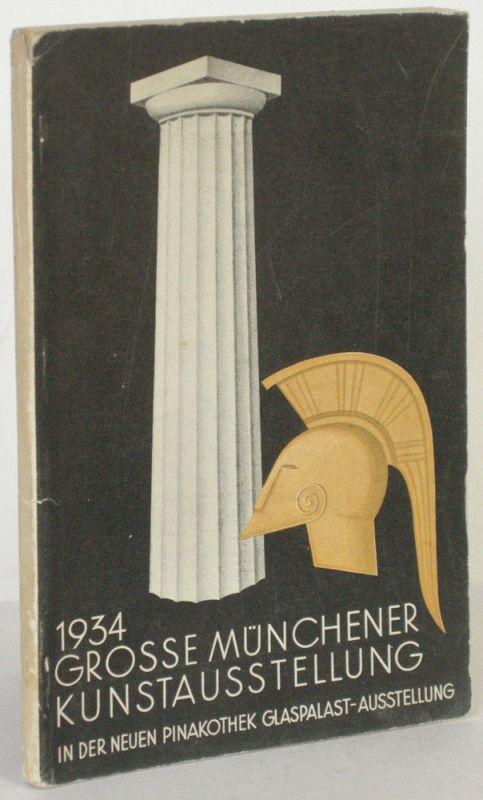 Große Münchener Kunstausstellung Neue Pinakothek 1934 Katalog Glaspalast