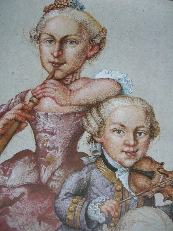 Michael Mathias Prechtl Mozart Schwester Vater Orig. Offset Plakat 1983 1