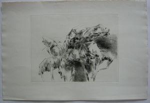 Roland Dörfler (1926-2010) Figuren Orig Radierung 1966 signiert