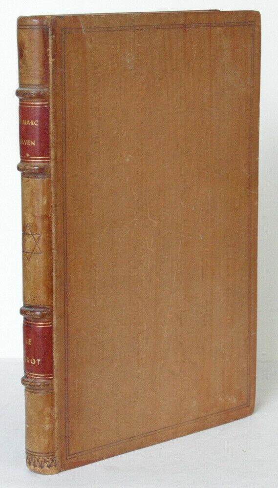 M. Haven Le Tarot L'Alphabet hebraique et les nombres Lyon 1937 Judaicum