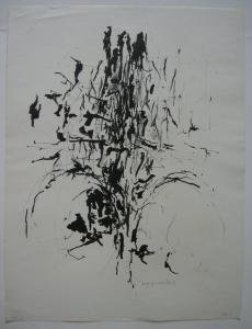 Wolff Buchholz (1935) Abstrakte Komposition Orig Lithografie 1963 signiert