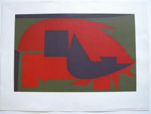 Victor Vasarely (1906-1997) Garam Orig Serigrafie 1972 Bruckmann