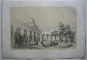 Algerien Algerie Alger Grande Mosquée a Bone  Lithografie Bayot 1840 Afrika