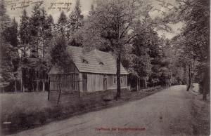 AK   Torfhaus bei Deutscheinsiedel Sachsen Erzgebirge gel 1911 Deutschneudorf