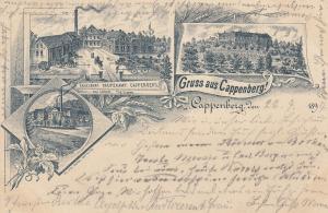 Ak Cappenberg Selm Unna Fabrik Kreutzkamp Schloss gel 1897