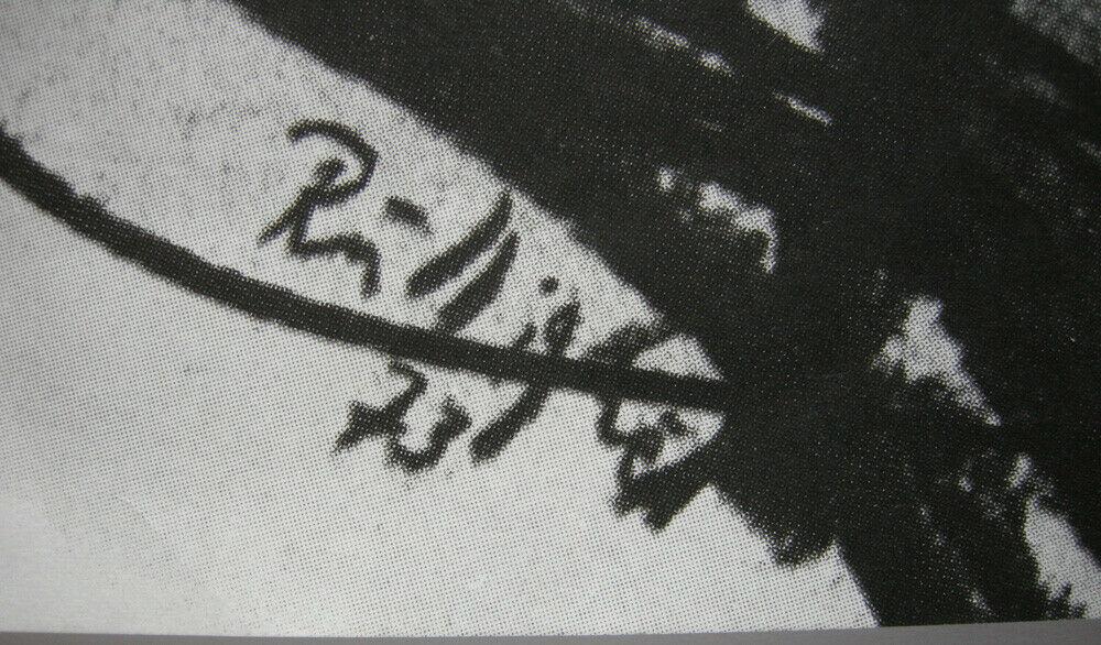 Frank Ruddigkeit intergrafik 73 Berlin Orig Plakat DDR 1973 3