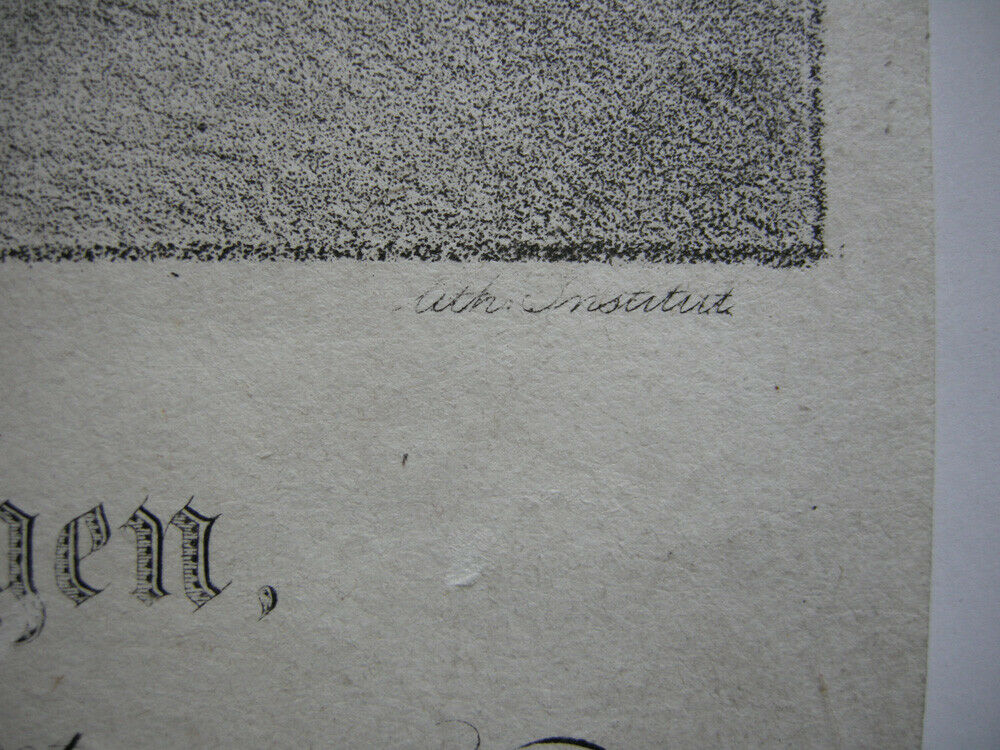 Friedrich Xaver zu Hohenzollern Hechingen Orig. Lithografie Lanzedelly 1830 3