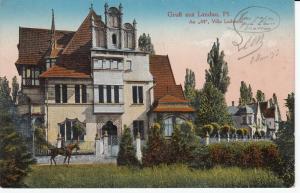 AK Landau Rheinland Pfalz An 44 Villa Ludowici ungel 1920