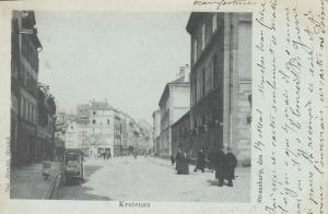 AK Krutenau Strassburg Elsass Alsace Frankreich France 1910