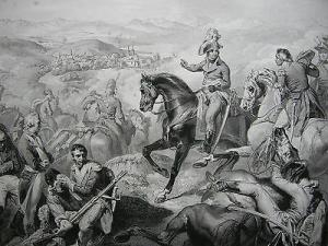 Schlacht Zürich Napoleon Italienischer Feldzug Stahlstich 1837 Schweiz