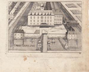 Ebergassing Wien Niederösterreich Orig Kupferstich G. M. Vischer 1672
