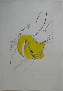 Wolff Buchholz (1935-2010) Ohne Titel Orig Radierung 22/25 signiert 1969