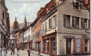AK Neustadt an der Weinstraße Kellereistrasse ungel 1920 Rheinland Pfalz